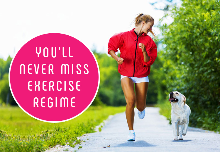You'll Never Miss Exercise Regime